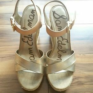 c20509323 Sam Edelman Shoes - Sam Edelman Clay Wedge Sandal Sz 9.5